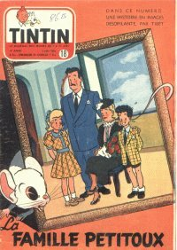 Journal de TINTIN �dition Belge N� 18 du 5 Mai 1954
