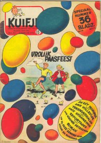 Kuifje weekblad N� 15 du 14 Avril 1954
