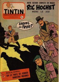 Journal de TINTIN �dition Fran�aise N� 342 du 12 Mai 1955