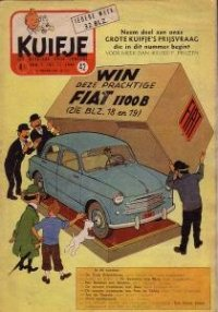 Kuifje weekblad N° 42 du 19 Octobre 1955