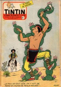 Journal de TINTIN �dition Fran�aise N� 383 du 23 F�vrier 1956