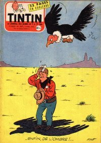 Journal de TINTIN �dition Fran�aise N� 389 du 5 Avril 1956