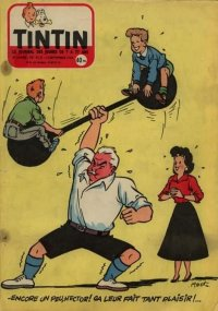 Journal de TINTIN �dition Fran�aise N� 412 du 13 Septembre 1956