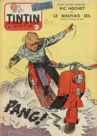 Journal de TINTIN �dition Belge N� 5 du 1 F�vrier 1956