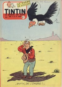 Journal de TINTIN �dition Belge N� 7 du 15 F�vrier 1956