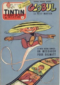 Journal de TINTIN �dition Belge N� 12 du 21 Mars 1956
