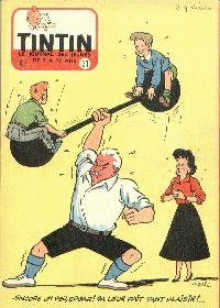 Journal de TINTIN �dition Belge N� 31 du 1 Ao�t 1956
