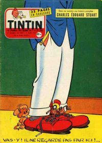 Journal de TINTIN �dition Fran�aise N� 437 du 7 Mars 1957
