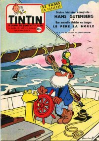 Journal de TINTIN �dition Fran�aise N� 439 du 21 Mars 1957