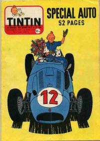 Journal de TINTIN �dition Fran�aise N� 444 du 25 Avril 1957