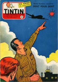 Journal de TINTIN �dition Fran�aise N� 447 du 16 Mai 1957