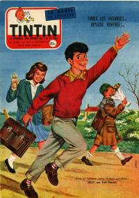 Journal de TINTIN �dition Fran�aise N� 467 du 3 Octobre 1957