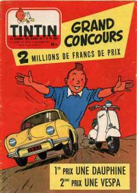 Journal de TINTIN �dition Fran�aise N� 472 du 7 Novembre 1957