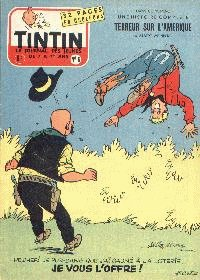 Journal de TINTIN �dition Belge N� 6 du 6 F�vrier 1957