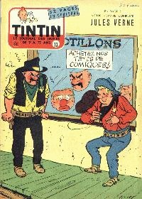 Journal de TINTIN �dition Belge N� 13 du 27 Mars 1957