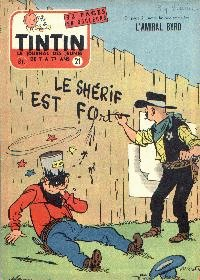 Journal de TINTIN �dition Belge N� 21 du 22 Mai 1957