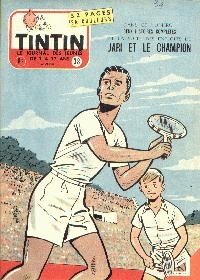 Journal de TINTIN édition Belge N° 38 du 18 Septembre 1957