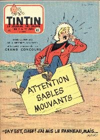 Journal de TINTIN �dition Belge N� 48 du 27 Novembre 1957