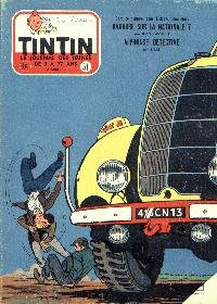 Journal de TINTIN �dition Belge N� 51 du 18 D�cembre 1957