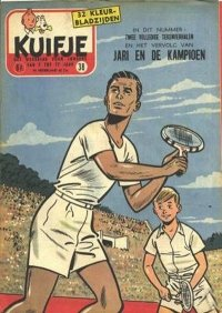 Kuifje weekblad N° 38 du 18 Septembre 1957