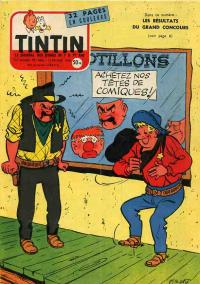 Journal de TINTIN �dition Fran�aise N� 486 du 13 F�vrier 1958