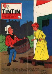 Journal de TINTIN �dition Fran�aise N� 496 du 24 Avril 1958