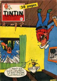Journal de TINTIN �dition Fran�aise N� 524 du 6 Novembre 1958