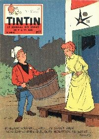 Journal de TINTIN �dition Belge N� 11 du 12 Mars 1958