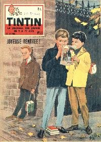 Journal de TINTIN édition Belge N° 36 du 3 Septembre 1958