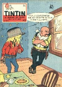 Journal de TINTIN �dition Belge N� 37 du 10 Septembre 1958