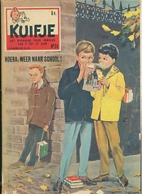 Kuifje weekblad N° 36 du 3 Septembre 1958
