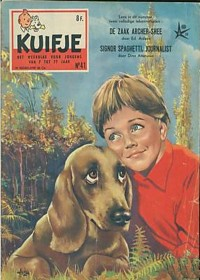 Kuifje weekblad N° 41 du 8 Octobre 1958