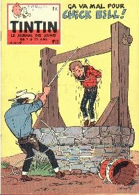 Journal de TINTIN �dition Belge N� 13 du 2 Avril 1959