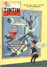 Journal de TINTIN �dition Belge N� 16 du 23 Avril 1959