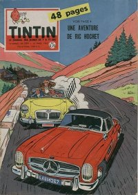 Journal de TINTIN �dition Fran�aise N� 594 du 10 Mars 1960
