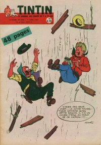 Journal de TINTIN �dition Fran�aise N� 598 du 7 Avril 1960