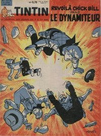 Journal de TINTIN �dition Fran�aise N� 672 du 7 Septembre 1961