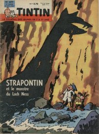 Journal de TINTIN �dition Fran�aise N� 677 du 12 Octobre 1961