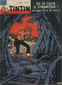 Journal de TINTIN �dition Fran�aise N� 683 du 23 Novembre 1961