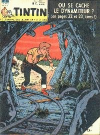 Journal de TINTIN �dition Belge N� 38 du 19 Septembre 1961