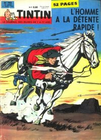 Journal de TINTIN �dition Fran�aise N� 702 du 5 Avril 1962