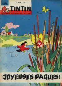 Journal de TINTIN �dition Fran�aise N� 704 du 19 Avril 1962
