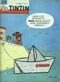 Journal de TINTIN �dition Fran�aise N� 709 du 20 Mai 1962