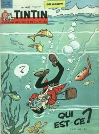 Journal de TINTIN �dition Fran�aise N� 720 du 9 Ao�t 1962