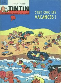 Journal de TINTIN �dition Fran�aise N� 721 du 16 Ao�t 1962