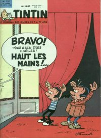 Journal de TINTIN �dition Fran�aise N� 727 du 27 Septembre 1962