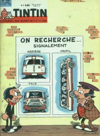 Journal de TINTIN �dition Fran�aise N� 729 du 11 Octobre 1962