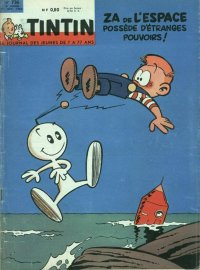 Journal de TINTIN �dition Fran�aise N� 736 du 29 Novembre 1962