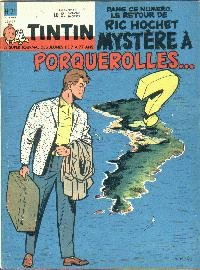 Journal de TINTIN �dition Belge N� 21 du 22 Mai 1962