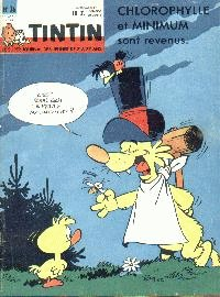 Journal de TINTIN �dition Belge N� 36 du 4 Septembre 1962